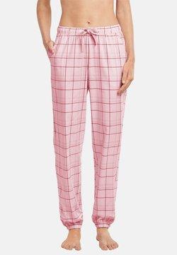 Schiesser - Nachtwäsche Hose - rosa gemustert