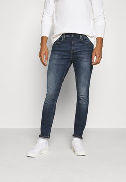 Tommy Jeans - AUSTIN - Jeans Tapered Fit - danny dark blue stretch