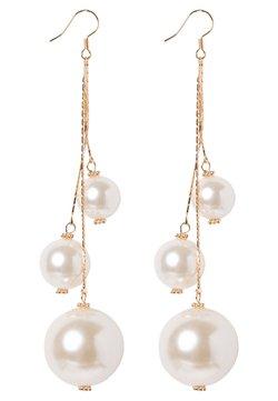 sweet deluxe - CELENTA - Earrings - gold-coloured/pearl