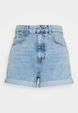 Gina Tricot - DAGNY MOM SHORTS - Shorts - blue denim