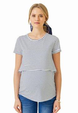 Vertbaudet - T-Shirt print - weiß blau