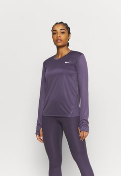 Nike Performance - MILER - Camiseta de deporte - dark raisin/silver