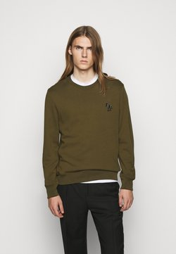 PS Paul Smith - ZEBRA CREW NECK - Sweatshirt - khaki