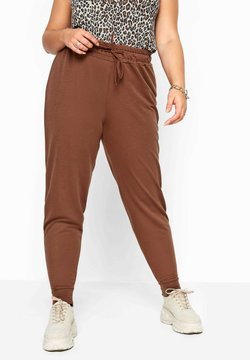 Yours Clothing - Jogginghose - brown