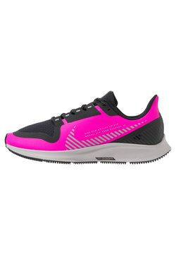 Nike Performance - AIR ZOOM PEGASUS 36 SHIELD - Neutrala löparskor - fire pink/silver/black/atmosphere grey