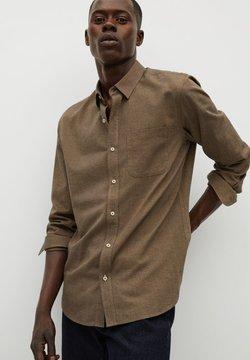 Mango - TWILL - Camisa - brown