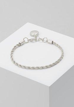 SNÖ of Sweden - HEGE BRACE SINGLE - Armband - plain silver-coloured