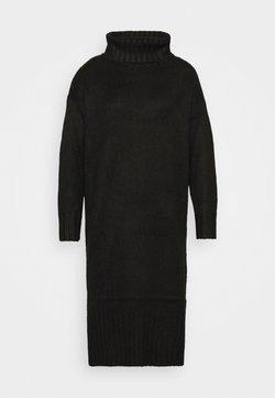New Look Petite - ROLL NECK DRESS - Neulemekko - black