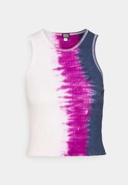 BDG Urban Outfitters - TIE DYE HIGH TANK - Topper - pink