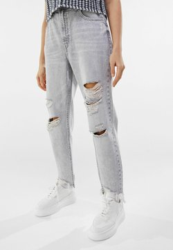 Bershka - Jeans Relaxed Fit - grey