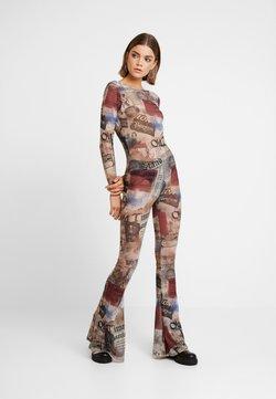 Jaded London - SCOOP BACK FLARED LEG - Combinaison - multicoloured