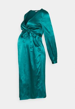 MAMALICIOUS - MLSHELBY DRESS - Cocktailkleid/festliches Kleid - deep teal