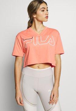 Fila - LEDA - Printtipaita - shell pink