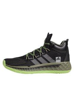 adidas Performance - PRO BOOST MID SHOES - Obuwie do koszykówki - black