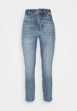 New Look Petite - WAIST ENHANCE MOM HARRY - Jeans relaxed fit - mid blue