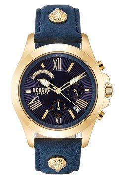 Versus Versace - LION EXTENSION - Montre à aiguilles - gold-coloured/blue