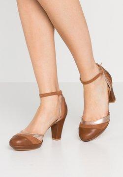 Anna Field - Zapatos de plataforma - cognac/bronze