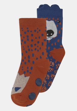 Ewers - BEAR 2 PACK UNISEX - Calcetines - red/blue