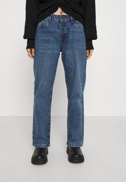 Noisy May Petite - NMAMANDA WIDE - Jeans relaxed fit - medium blue denim