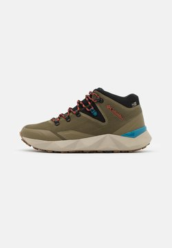 Columbia - FACET 60 OUTDRY - Hiking shoes - new olive/black