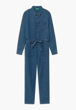 Benetton - KEITH KISS GIRL - Combinaison - blue denim