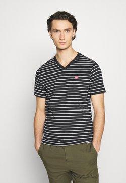 Levi's® - VNECK - T-shirt con stampa - jet black