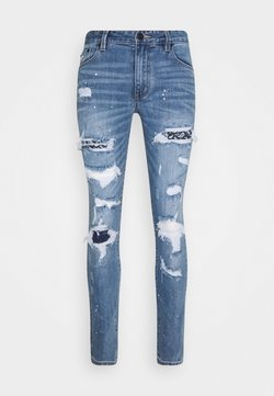 AMICCI - CAPRI CARROT FIT  - Jeans Tapered Fit - lightblue