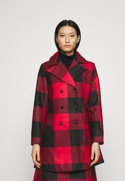 Who What Wear - CLASSIC PEACOAT - Abrigo - red