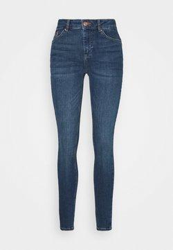 Pieces Petite - PCDELLY  - Jeans Skinny Fit - medium blue denim
