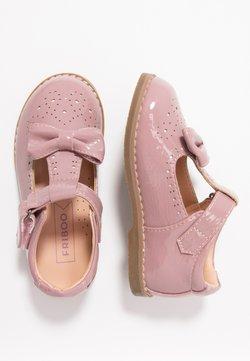Friboo - Ballerina's met enkelbandjes - rose