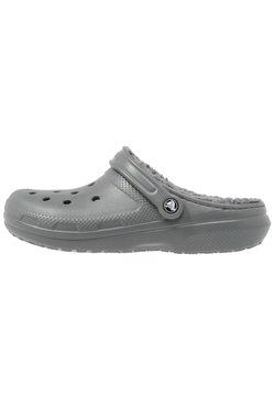 Crocs - CLASSIC LINED ROOMY FIT - Clogs - slate grey/smoke