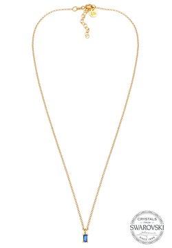Elli - GLASS CRYSTAL - Halsband - gold
