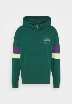 Levi's® - BLOCKED OPEN HEM HOODIE UNISEX - Sweatshirt - greens