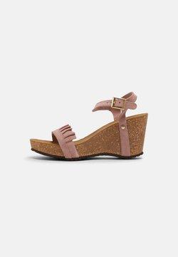 Copenhagen Shoes - SUNDAY MORNING - Plateausandaler - rose
