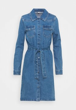 ONLY Tall - ONLCOLUMBIA LIFE DRESS - Denim dress - medium blue denim