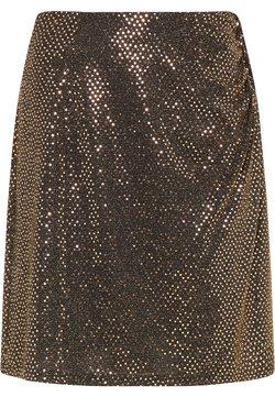 usha - A-Linien-Rock - schwarz nude