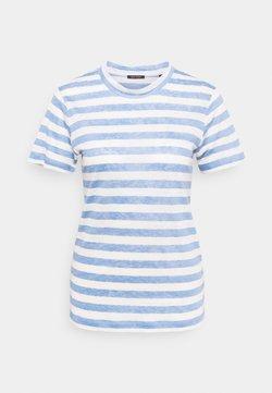 Marc O'Polo - SHORT SLEEVE ROUND NECK SLIM FIT STRIPED - T-Shirt print - mutli/washed cornflower