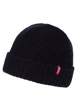Levi's® - RIBBED BEANIE - Mütze - regular black