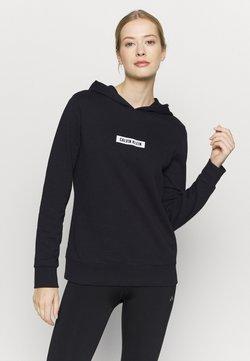 Calvin Klein Performance - HOODIE - Huppari - black