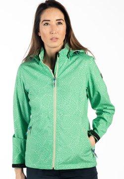 LPO - Regenjacke / wasserabweisende Jacke - grün