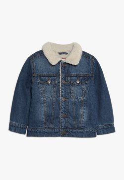 Cotton On - JESSIE SHERPA JACKET - Jeansjacke - mid blue wash