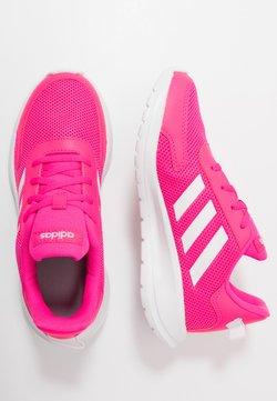 adidas Performance - TENSAUR RUN UNISEX - Juoksukenkä/neutraalit - shock pink/footwear white/light granite