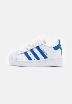 adidas Originals - SUPERSTAR  - Baskets basses - footwear white/team royal blue