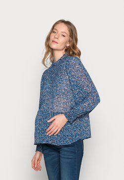 Pieces Maternity - PCMTILLE - Bluse - star sapphire