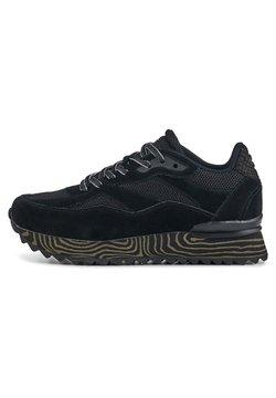 Woden - SOPHIE MARBLE - Sneakersy niskie - schwarz