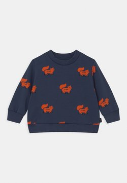 TINYCOTTONS - FOXES - Sweater - light navy/sienna