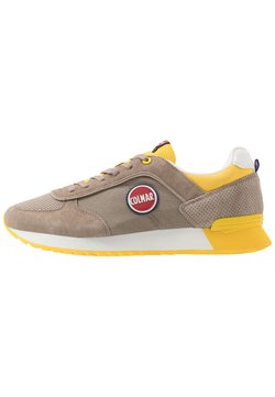 Colmar Originals - TRAVIS - Sneaker low - warm grey/yellow
