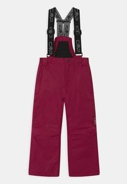 CMP - SALOPETTE UNISEX - Snow pants - magenta