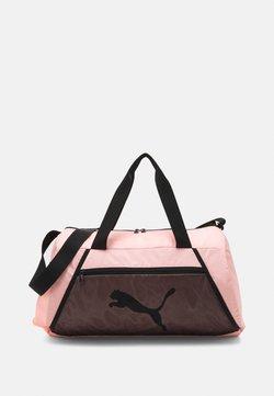 Puma - BARREL BAG - Sporttasche - elektro peach/black