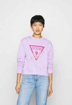Guess - ICON - Sweatshirt - lilac future